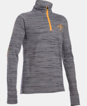 Girls' Pittsburgh Pirates UA Tech™ 1/2 Zip LIMITED TIME: FREE U.S. SHIPPING 1 Color $37.99
