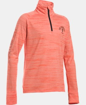 Girls' San Francisco Giants UA Tech™ ½ Zip   $37.99