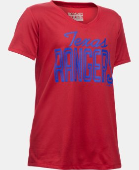 Girls' Texas Rangers UA Tech™ T-Shirt   $18.99