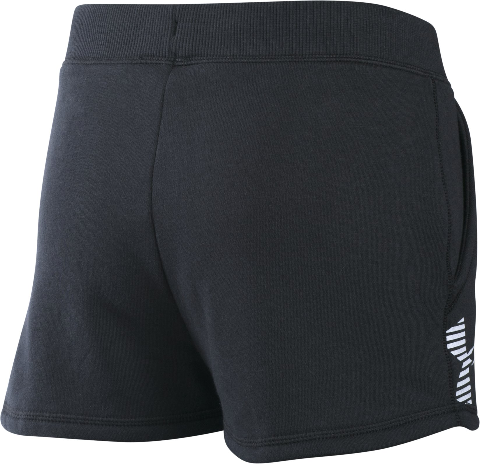 Girls' UA Favorite Fleece Shorts, Black , undefined