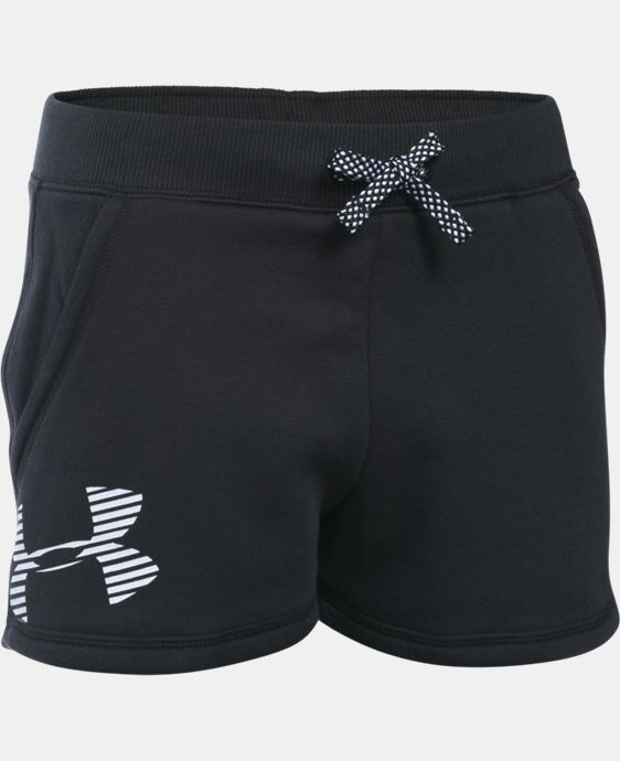 New to Outlet Girls' UA Favorite Fleece Shorts LIMITED TIME: FREE U.S. SHIPPING  $14.24 to $18.99