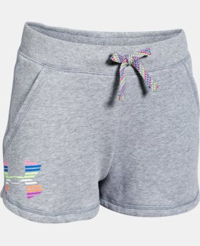 Girls' UA Favorite Fleece Shorts