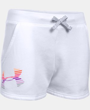 Girls' UA Favorite Fleece Shorts  1 Color $17.24