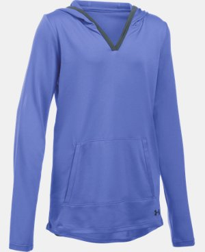 New Arrival  Girls' UA Tech™ Hoodie LIMITED TIME: FREE SHIPPING 1 Color $44.99