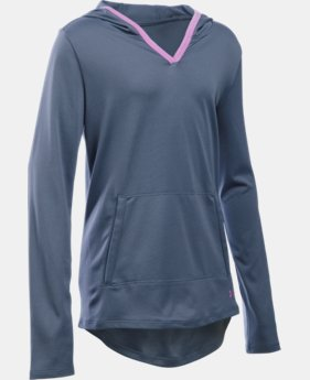 New Arrival  Girls' UA Tech™ Hoodie  2 Colors $44.99