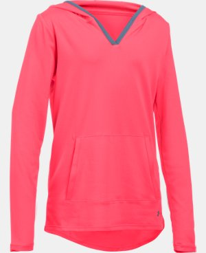 Girls' UA Tech™ Hoodie LIMITED TIME: FREE SHIPPING 1 Color $33.74