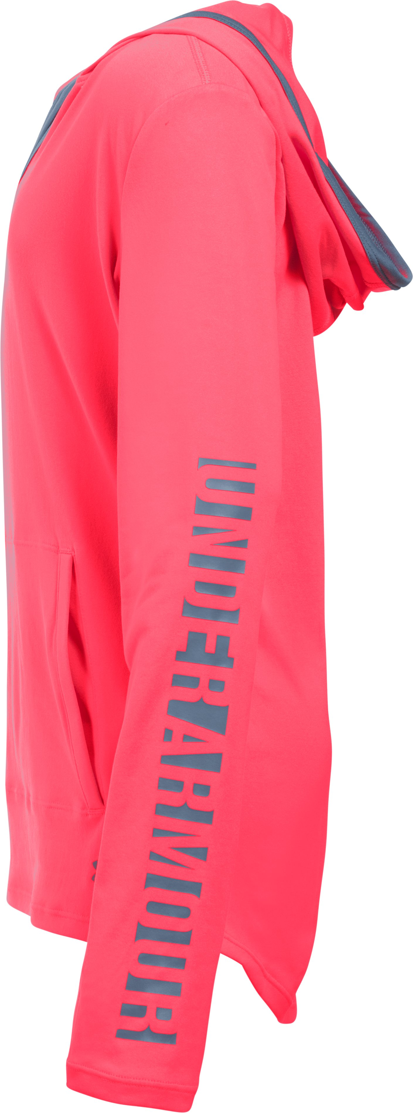 Girls' UA Tech™ Hoodie, PINK CHROMA