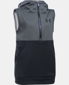 New to Outlet Girls' Armour Fleece® 1/2 Zip Vest   $33.99