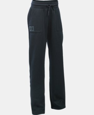 Girls' UA Armour® Fleece Boyfriend Pants  2 Colors $49.99