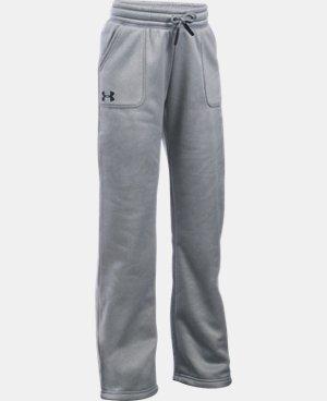Girls' UA Armour® Fleece Boyfriend Pants LIMITED TIME OFFER + FREE U.S. SHIPPING  $29.99