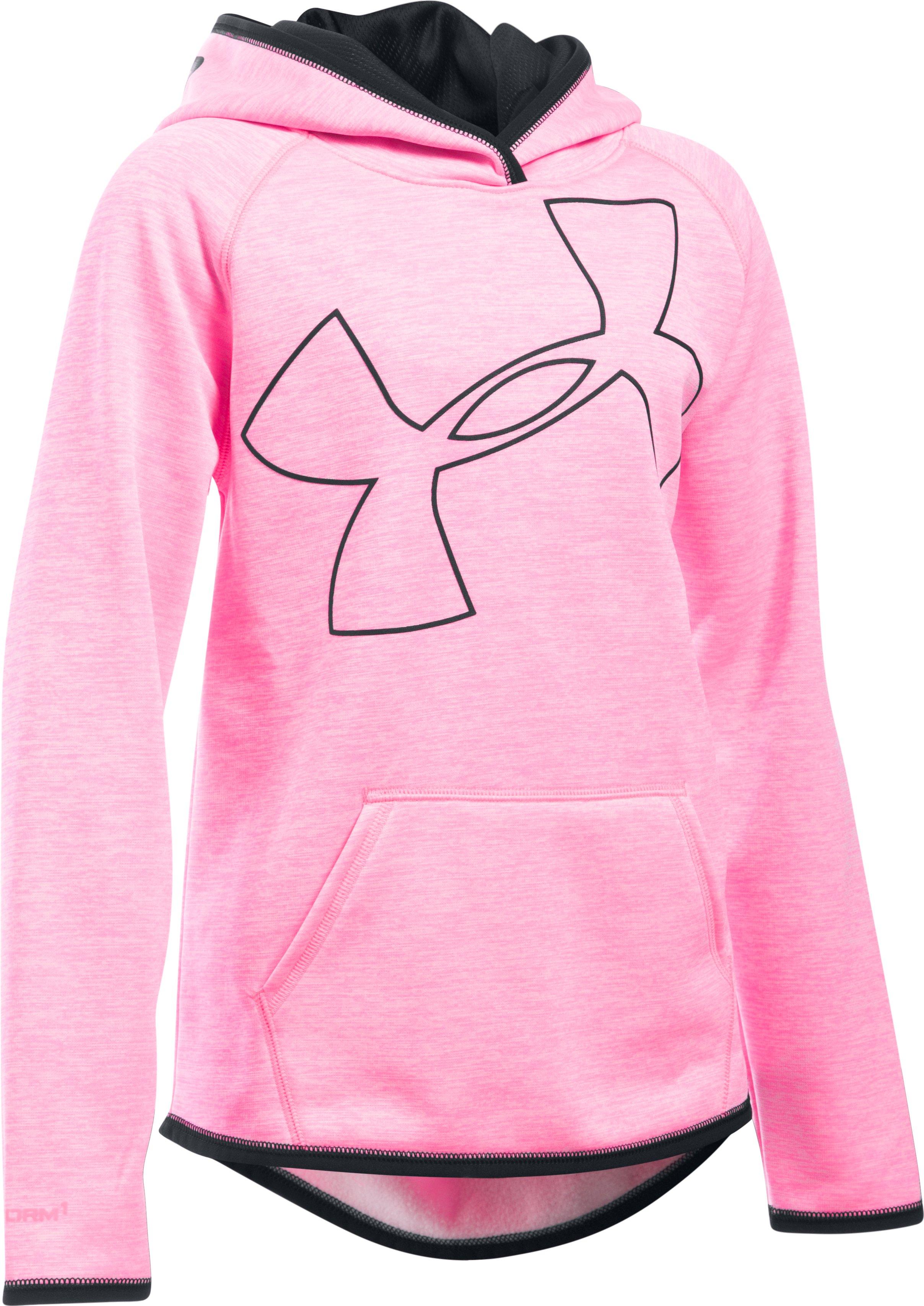 Girls' UA Armour® Fleece Novelty Jumbo Logo Hoodie | Under Armour US