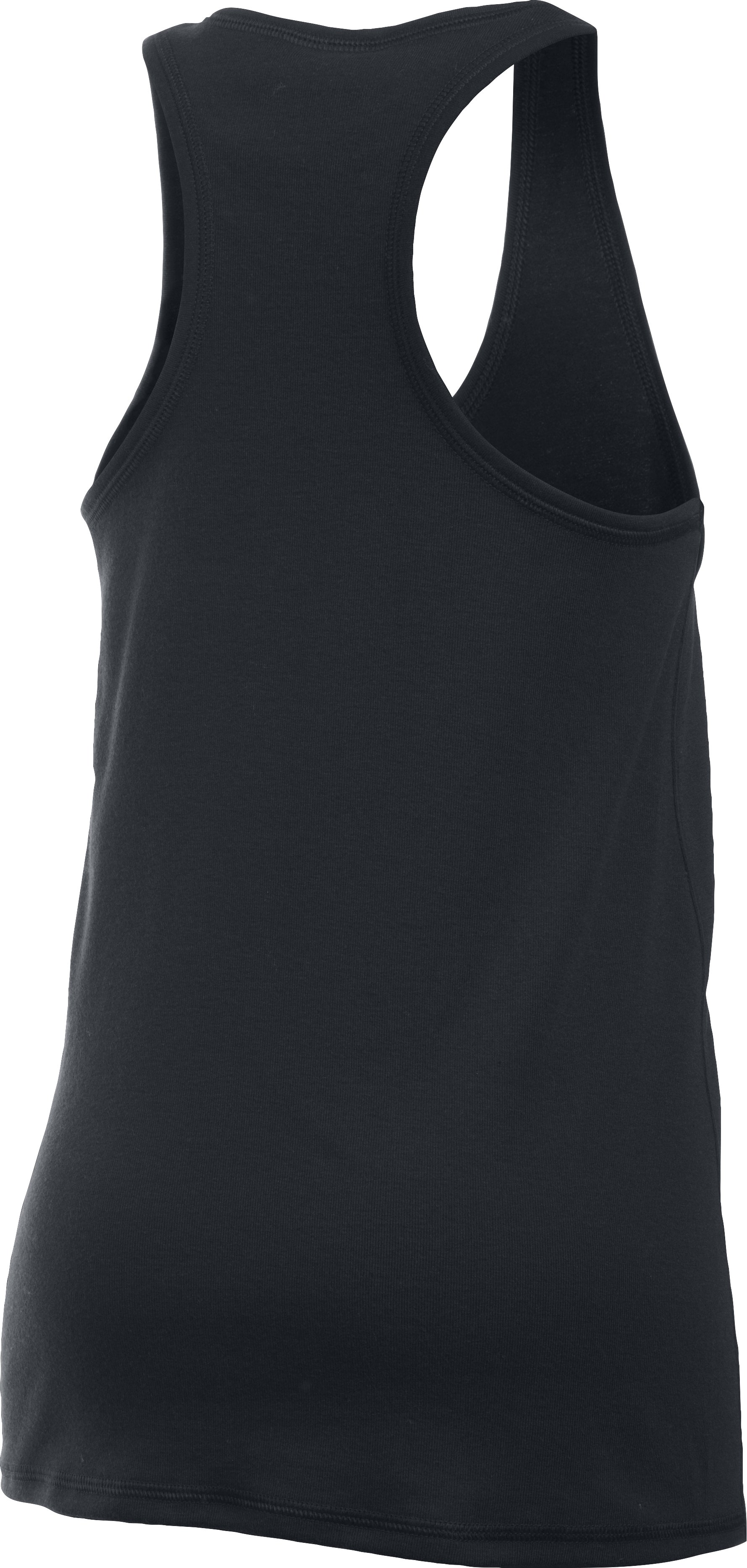 Girls' UA Favorite Knit Tank, Black , undefined