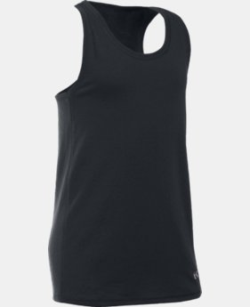 Girls' UA Favorite Knit Tank LIMITED TIME: FREE SHIPPING 2 Colors $22.99