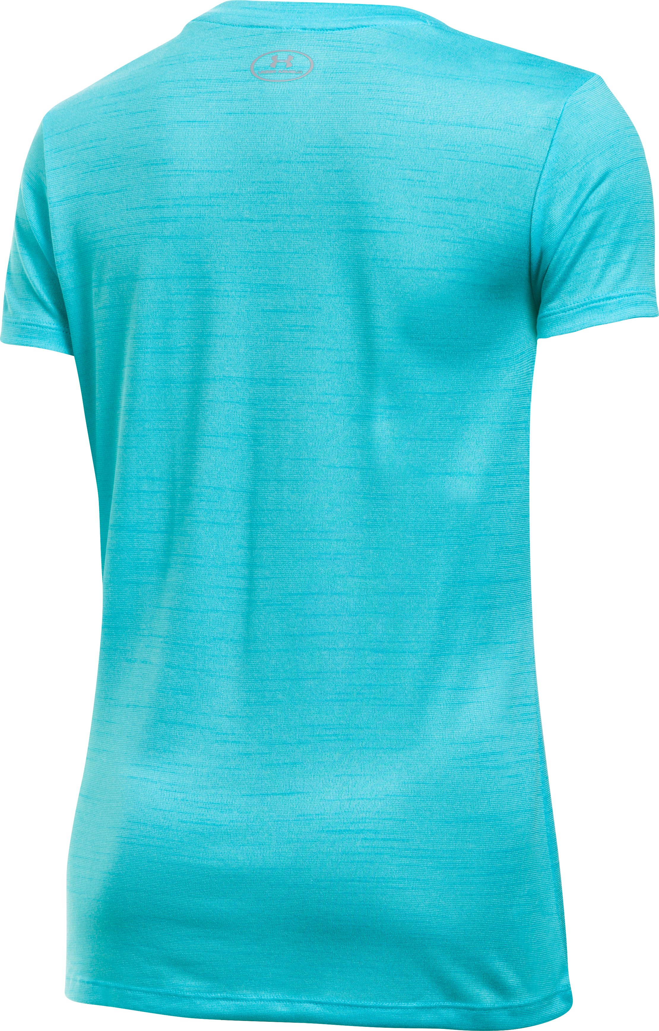 Women's UA Tech™ Tiger V-Neck, Venetian Blue