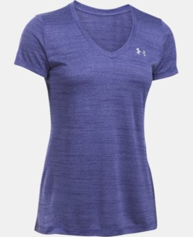 Women's UA Tech™ Tiger V-Neck  1 Color $14.99 to $18.99
