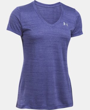 Women's UA Tech™ Tiger V-Neck LIMITED TIME: FREE SHIPPING 1 Color $22.49