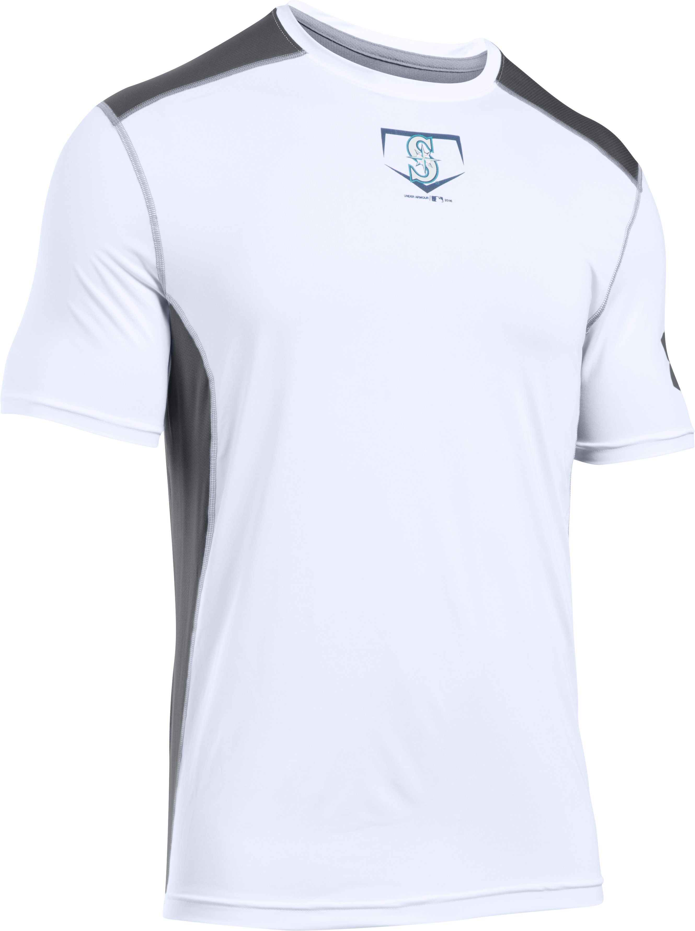Men's Seattle Mariners UA Raid T-Shirt, White