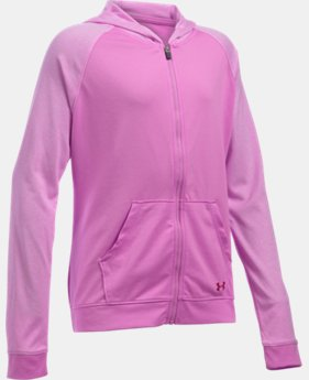 New Arrival  Girls' UA Tech™ Full Zip Hoodie  1 Color $49.99