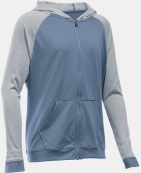 Best Seller Girls' UA Tech™ Full Zip Hoodie  2 Colors $44.99