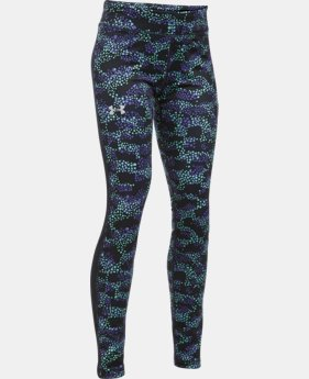 Girls' UA ColdGear® Armour Leggings LIMITED TIME OFFER + FREE U.S. SHIPPING 4 Colors $33.74