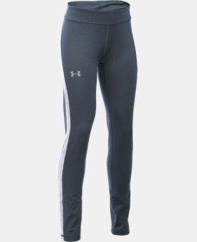 New Arrival  Girls' UA ColdGear® Armour Leggings   $49.99
