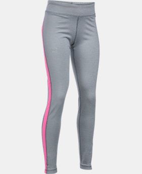 Girls' UA ColdGear® Armour Leggings  2 Colors $33.99