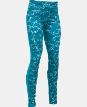 Girls' UA ColdGear® Armour Leggings LIMITED TIME OFFER + FREE U.S. SHIPPING 1 Color $33.74