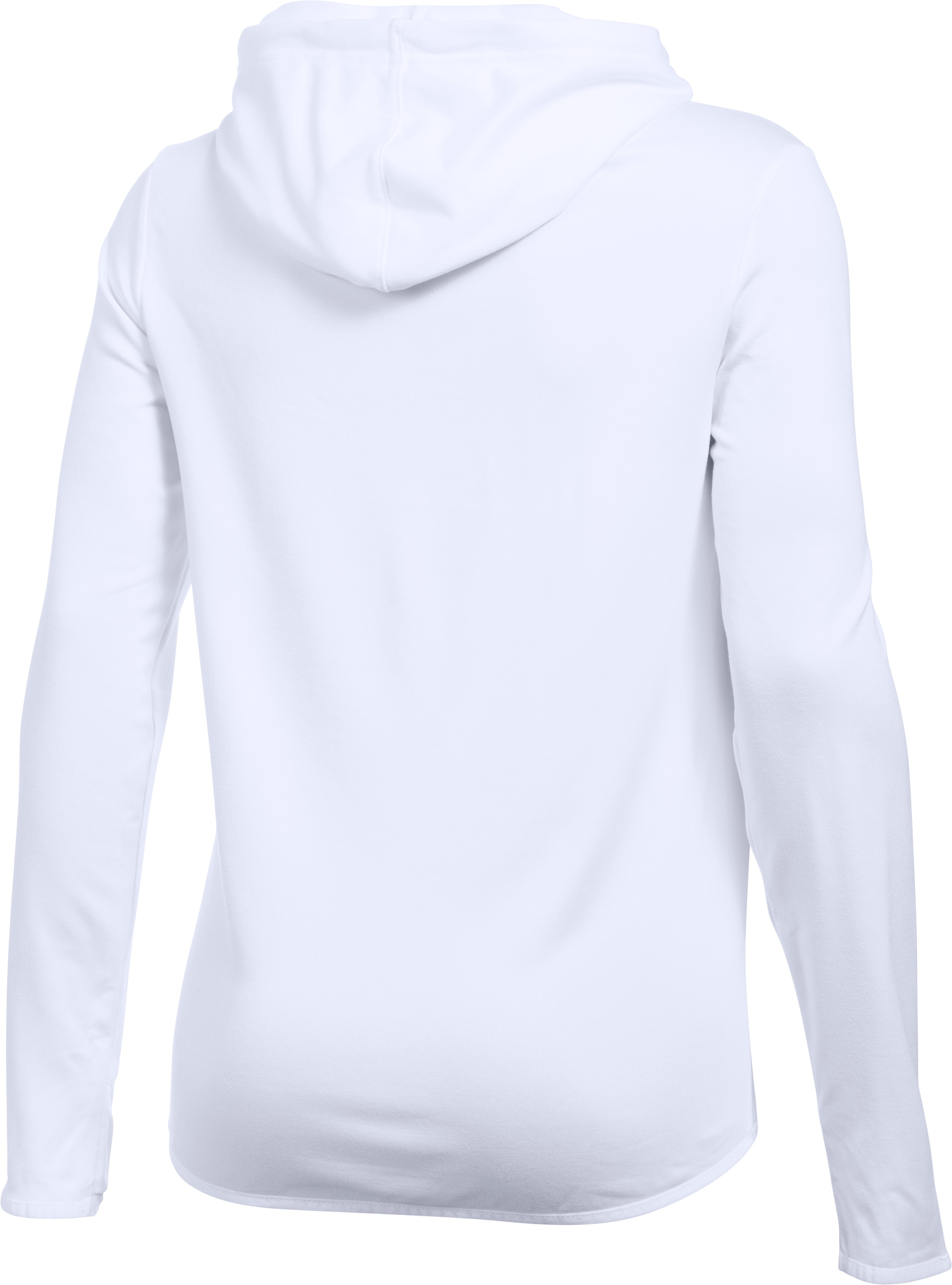 Women's Chicago Cubs UA French Terry Hoodie, White, undefined