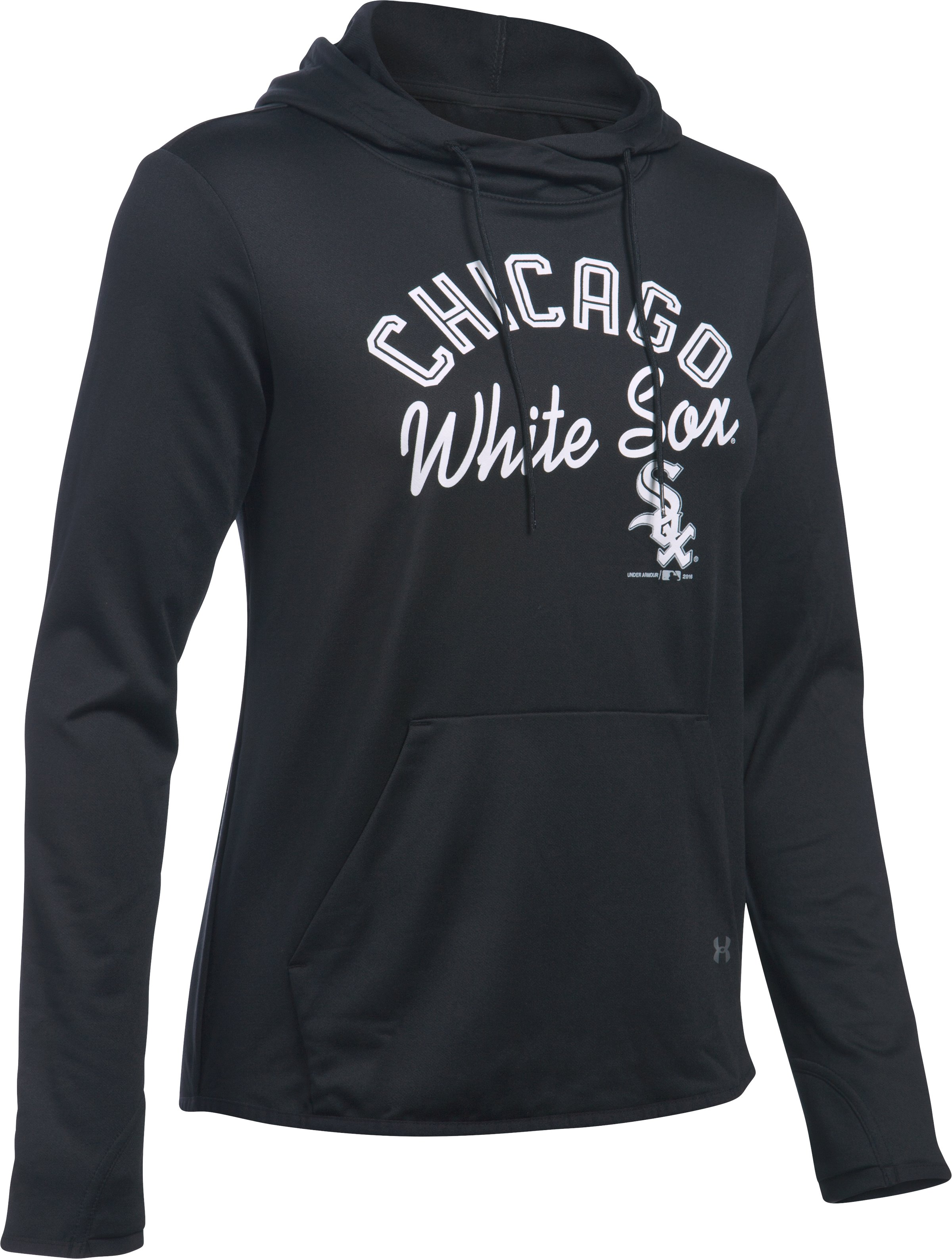 Women's Chicago White Sox UA French Terry Hoodie, Black