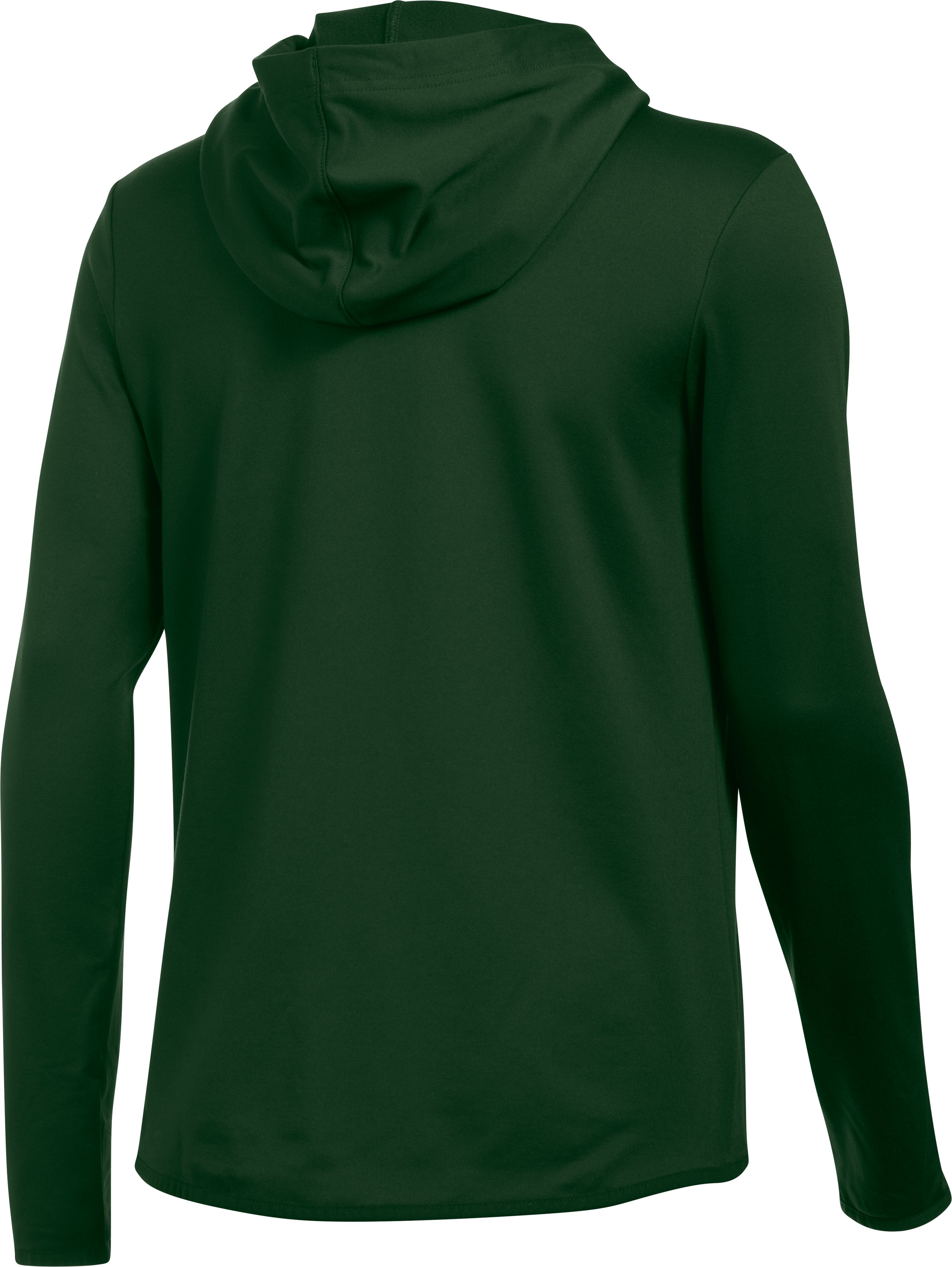 Women's Oakland Athletics UA French Terry Hoodie, Forest Green,