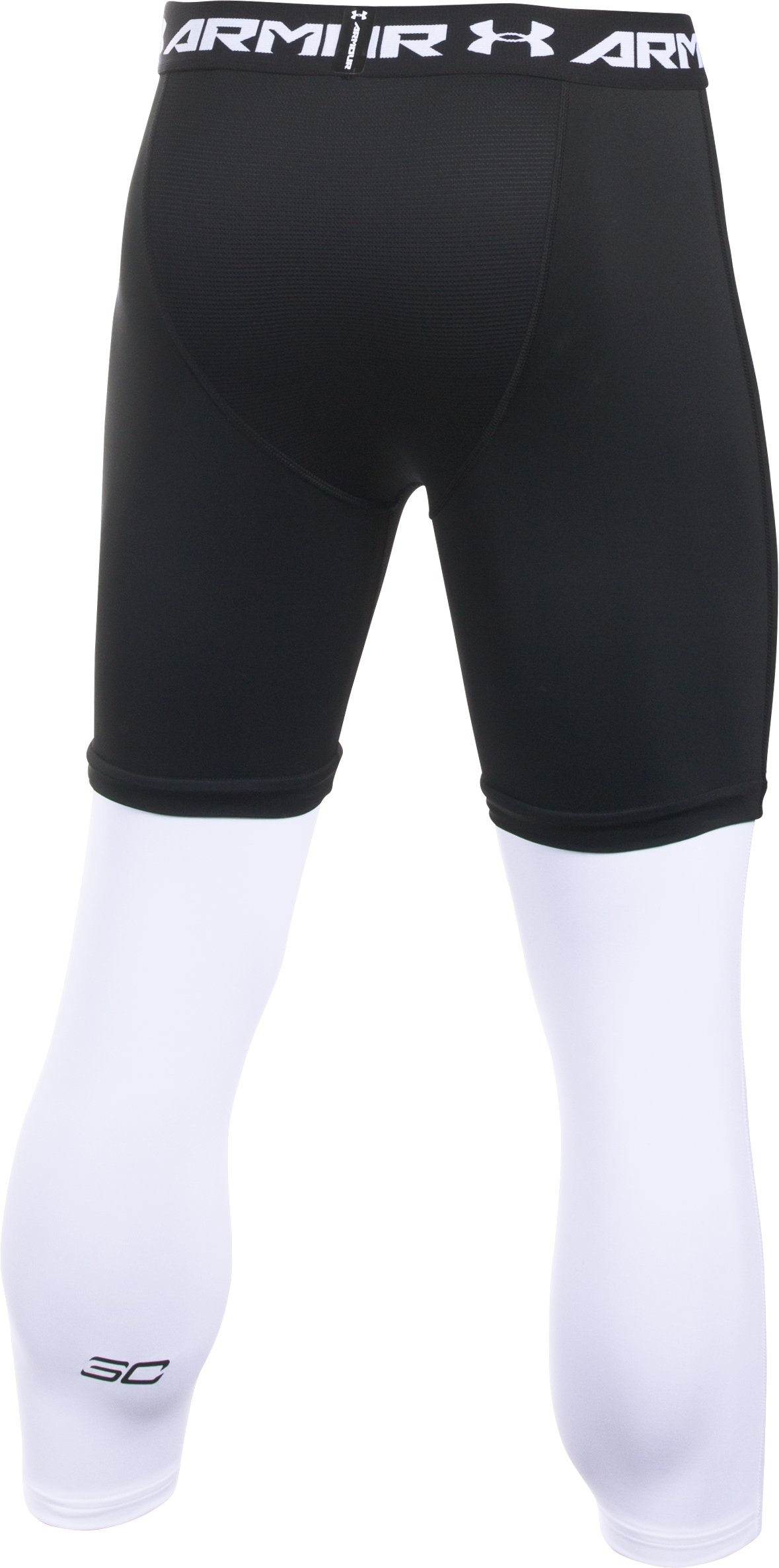 Men's SC30 ¾ Compression Leggings, Black ,
