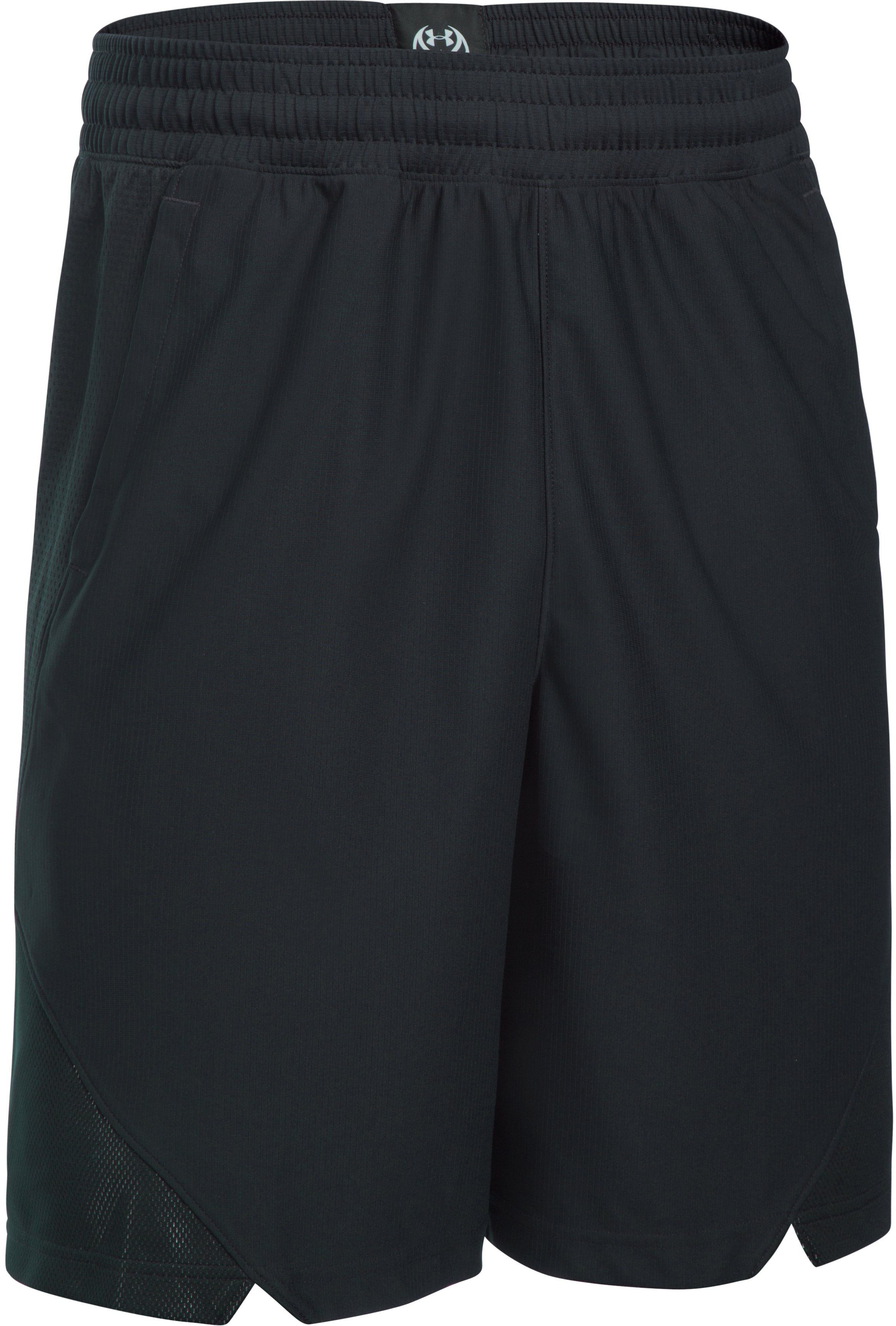 Men's UA Select Drive Shorts, Black , undefined