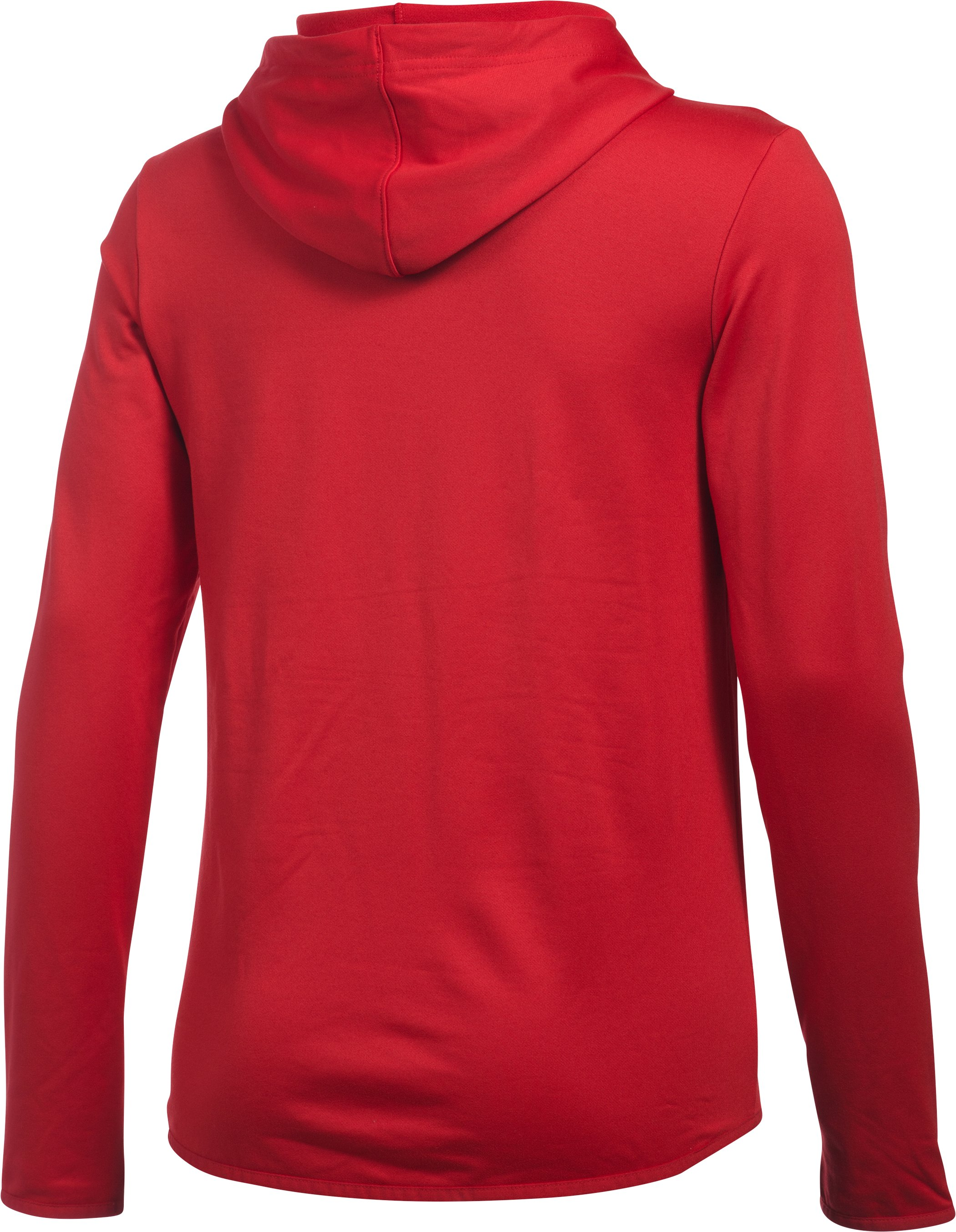 Women's Texas Rangers UA French Terry Hoodie, Red, undefined