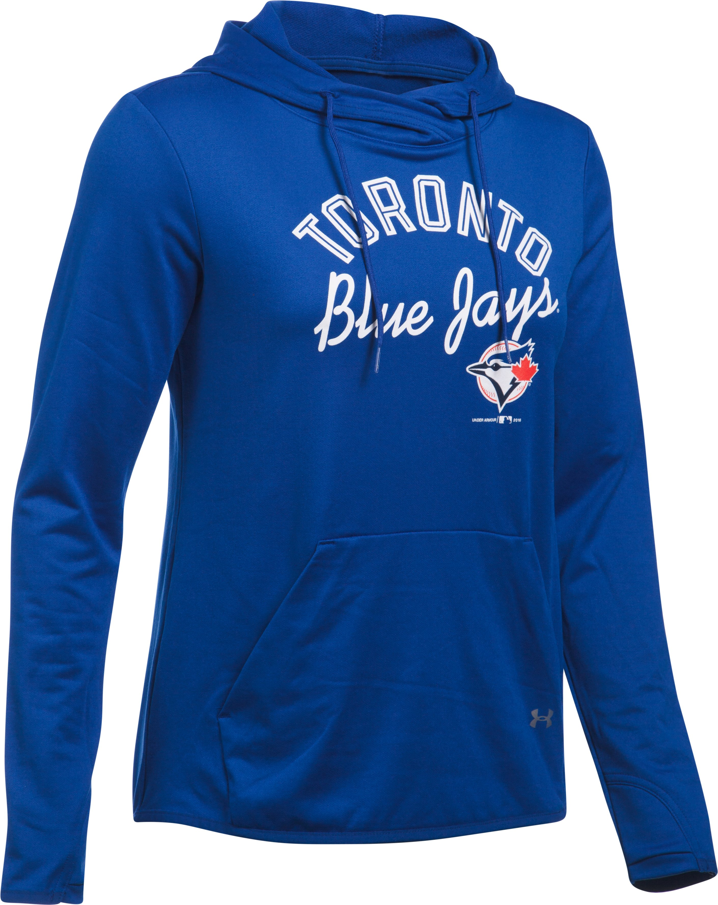 Women's Toronto Blue Jays UA French Terry Hoodie, Royal