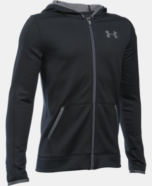 Boys' UA ColdGear® Fusion Full Zip Hoodie  1 Color $48.74