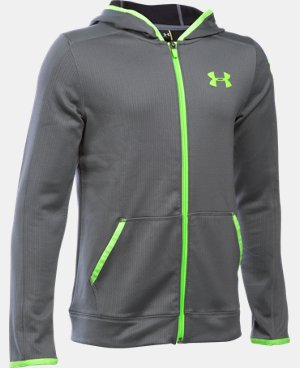 Boys' UA ColdGear® Fusion Full Zip Hoodie LIMITED TIME: FREE SHIPPING 1 Color $48.74