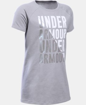 Girls' UA Favorites Short Sleeve T-Shirt LIMITED TIME: FREE SHIPPING  $22.99