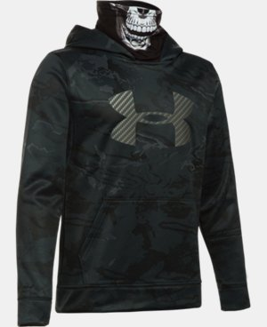 Boys' UA Storm Skull Mask Hoodie LIMITED TIME OFFER + FREE U.S. SHIPPING 1 Color $48.74