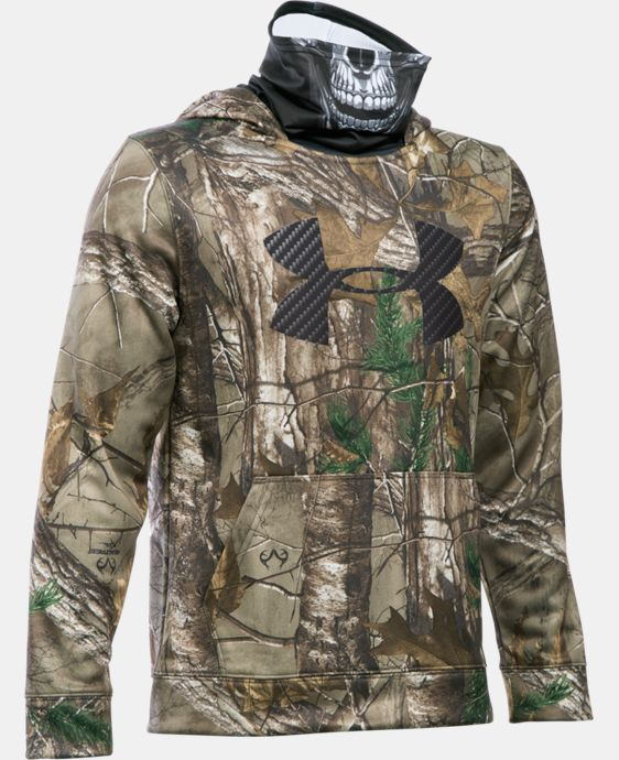 Boys' UA Storm Skull Mask Hoodie LIMITED TIME OFFER + FREE U.S. SHIPPING 2 Colors $48.74