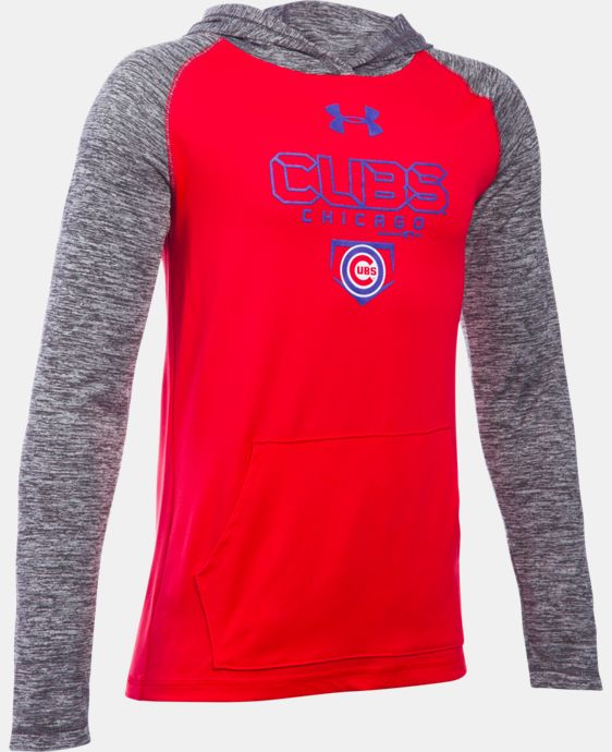 Boys' Chicago Cubs UA Tech™ Hoodie  1 Color $37.99