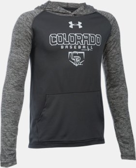 Boys' Colorado Rockies UA Tech™ Hoodie
