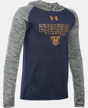 Boys' Milwaukee Brewers UA Tech™ Hoodie   $33.99