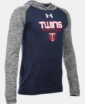 Boys' Minnesota Twins UA Tech™ Hoodie