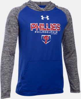 Boys' Philadelphia Phillies UA Tech™ Hoodie  1 Color $33.99