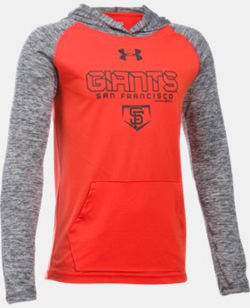 Boys' San Francisco Giants UA Tech™ Hoodie  1 Color $33.99