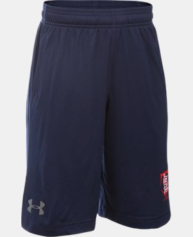 New Arrival Boys' St. Louis Cardinals UA Raid Shorts   $29.99