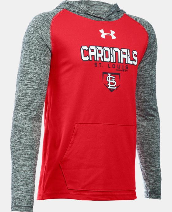 Boys' St. Louis Cardinals UA Tech™ Hoodie  1 Color $37.99