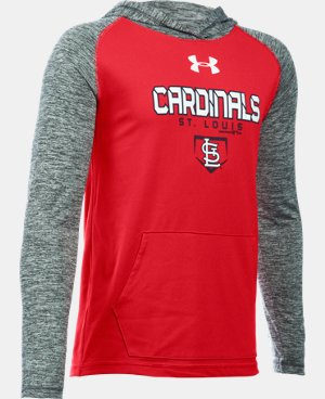 Boys' St. Louis Cardinals UA Tech™ Hoodie LIMITED TIME: FREE SHIPPING 1 Color $37.99