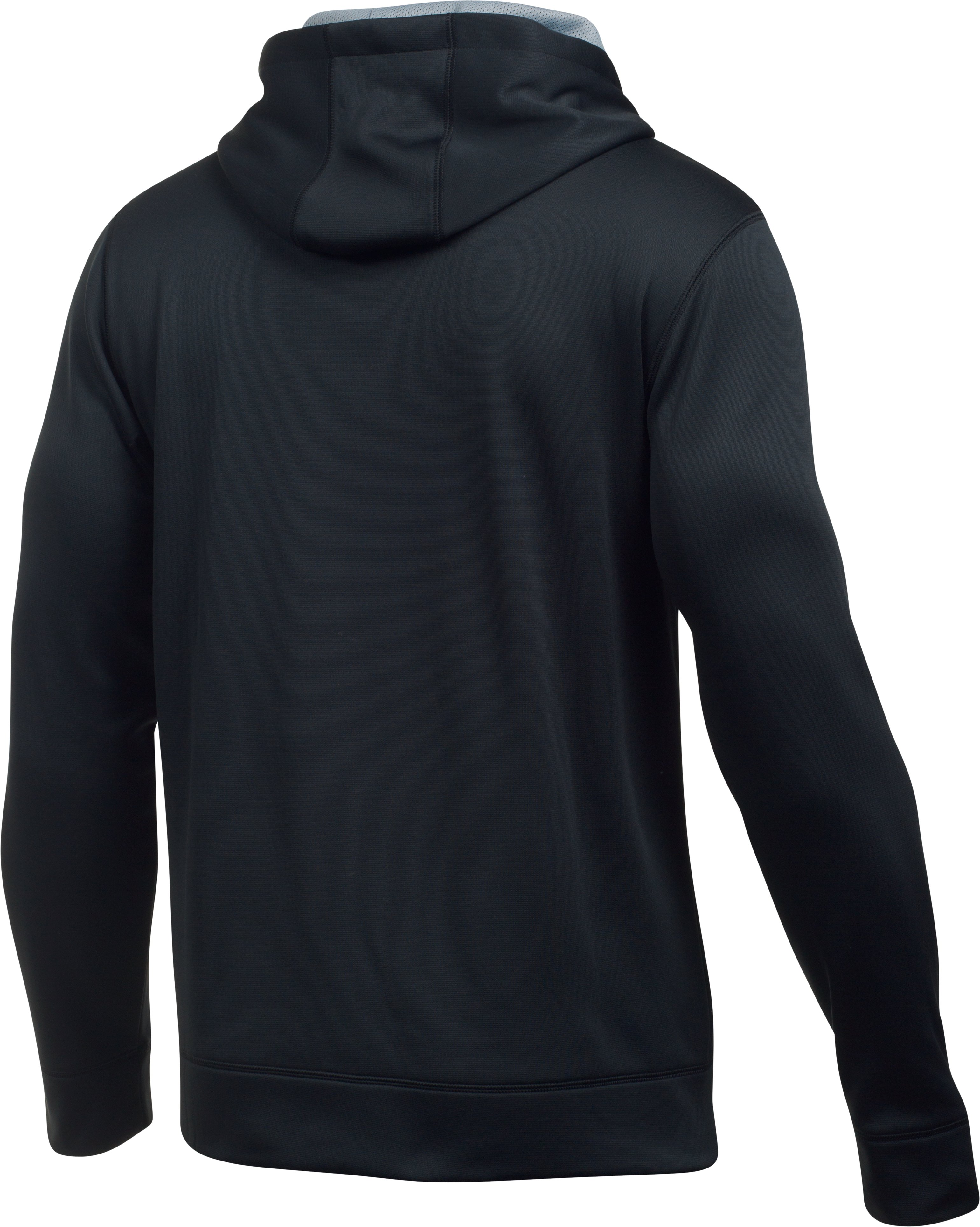Men's UA Hockey Hoodie, Black ,