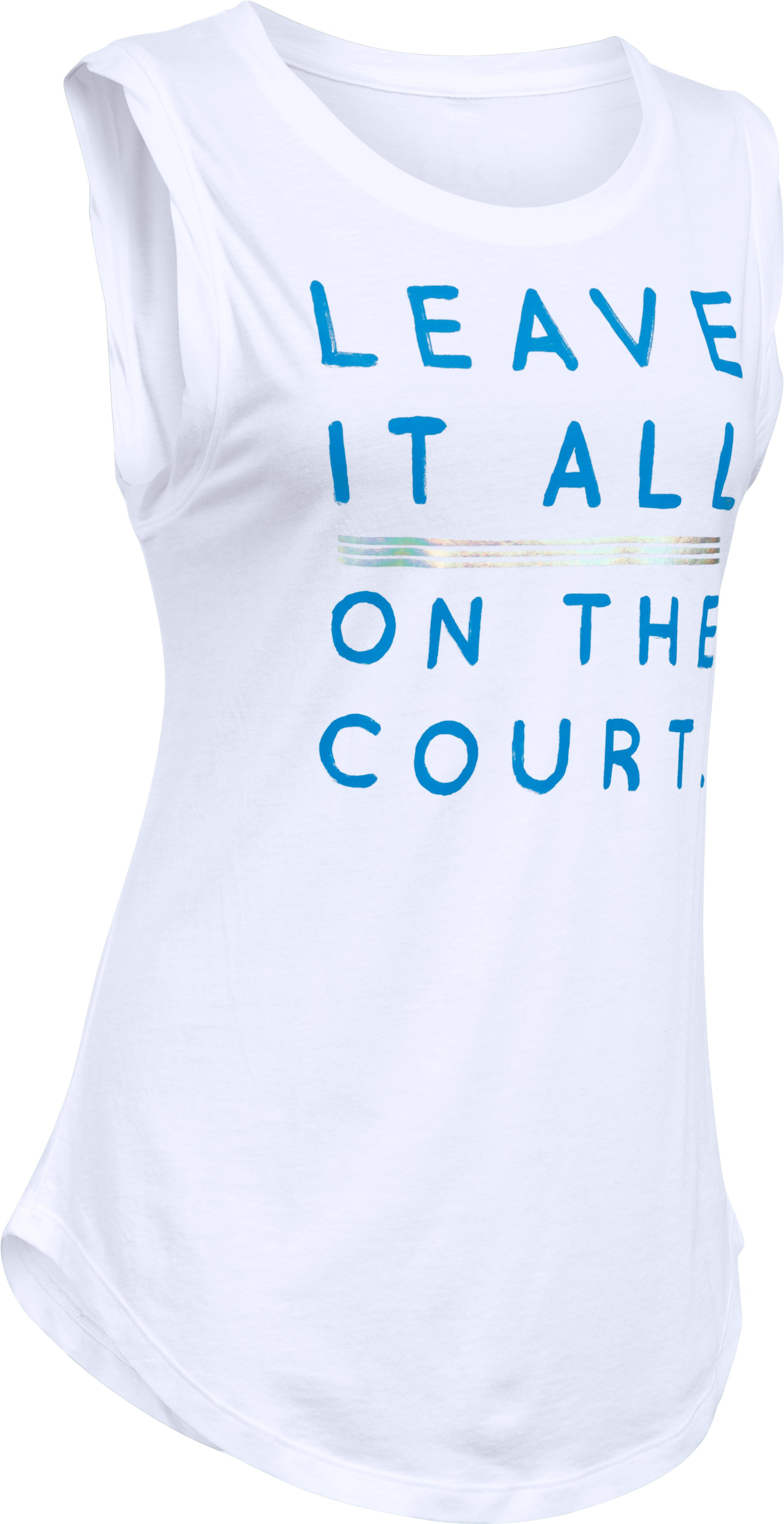 Women's UA Leave It On Court Tunic , White, undefined